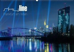 Skyline Frankfurt am Main (Wandkalender 2018 DIN A2 quer) von Wissler,  Ronald