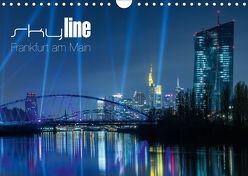 Skyline Frankfurt am Main (Wandkalender 2018 DIN A4 quer) von Wissler,  Ronald