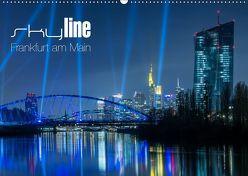 Skyline Frankfurt am Main (Wandkalender 2019 DIN A2 quer) von Wissler,  Ronald