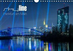 Skyline Frankfurt am Main (Wandkalender 2019 DIN A4 quer) von Wissler,  Ronald