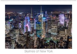 Skylines of New York (Wandkalender 2019 DIN A2 quer) von Schröder - ST-Fotografie,  Stefan