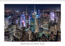 Skylines of New York (Wandkalender 2019 DIN A3 quer) von Schröder - ST-Fotografie,  Stefan
