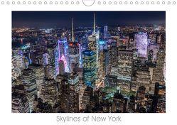 Skylines of New York (Wandkalender 2019 DIN A4 quer) von Schröder - ST-Fotografie,  Stefan