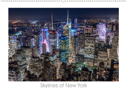 Skylines of New York (Wandkalender 2020 DIN A2 quer) von Schröder - ST-Fotografie,  Stefan