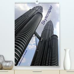 Skyscraper (Premium, hochwertiger DIN A2 Wandkalender 2020, Kunstdruck in Hochglanz) von Gerlach,  DY