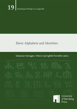 Slavic Alphabets and Identities von Kempgen,  Sebastian, Tomelleri,  Vittorio Springfield