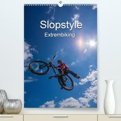 Slopestyle Extrembiking (Premium, hochwertiger DIN A2 Wandkalender 2020, Kunstdruck in Hochglanz) von Drees,  Andreas