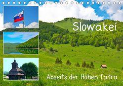 Slowakei – Abseits der Hohen Tatra (Tischkalender 2019 DIN A5 quer) von Plastron Pictures,  Lost