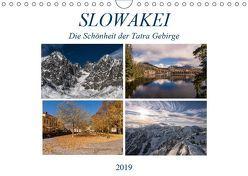 Slowakei – Die Schönheit der Tatra Gebirge (Wandkalender 2019 DIN A4 quer) von Correia Photography,  Gloria