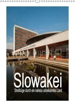 Slowakei – Streifzüge durch ein nahezu unbekanntes Land (Wandkalender 2019 DIN A3 hoch) von Hallweger,  Christian