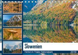 Slowenien – Herbst im Triglav Nationalpark (Tischkalender 2019 DIN A5 quer) von Frauke Fuck,  FF-PhotoArt