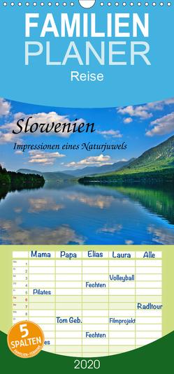 Slowenien – Impressionen eines Naturjuwels – Familienplaner hoch (Wandkalender 2020 , 21 cm x 45 cm, hoch) von Plastron Pictures,  Lost