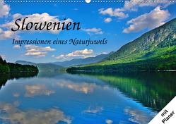 Slowenien – Impressionen eines Naturjuwels (Wandkalender 2020 DIN A2 quer) von Plastron Pictures,  Lost
