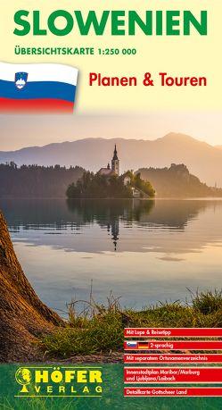 Übersichtskarte Slowenien – SL 600 von Höfer,  Lars