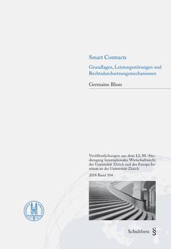 Smart Contracts von Blum,  Germaine