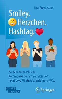 Smiley – Herzchen – Hashtag von Buttkewitz,  Uta