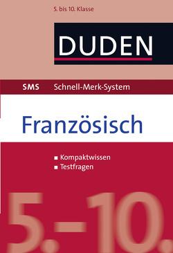 SMS Französisch – 5.-10. Klasse von Fahlbusch,  Claudia, Kirschstein,  Veronika