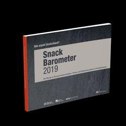 Snack-Barometer 2019: Wie snackt Deutschland? von afz - allgemeine fleischer zeitung, Allgemeine BäckerZeitung (ABZ)