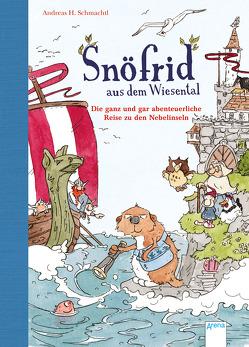 Snöfrid aus dem Wiesental (2). Die ganz und gar abenteuerliche Reise zu den Nebelinseln von Schmachtl,  Andreas H.