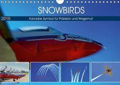 SNOWBIRDS – Kanadas Symbol für Präzision und Wagemut (Wandkalender 2019 DIN A4 quer) von Pfaff,  Hans-Gerhard