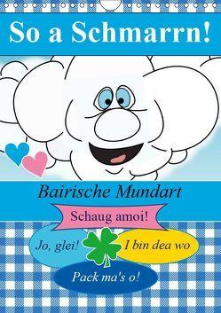 So a Schmarrn! Bairische Mundart (Wandkalender 2019 DIN A4 hoch) von Stanzer,  Elisabeth