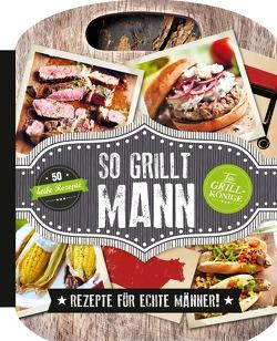 So grillt Mann von cooper,  Mike, Jefferson,  Lincoln
