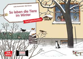 So leben die Tiere im Winter. Kamishibai Bildkartenset. von Hauenschild,  Lydia, Penava,  Mile