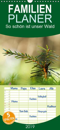 So schön ist unser Wald – Familienplaner hoch (Wandkalender 2019 , 21 cm x 45 cm, hoch) von Wuchenauer pixelrohkost.de,  Markus