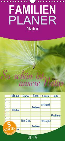 So schön ist unsere Natur – Familienplaner hoch (Wandkalender 2019 , 21 cm x 45 cm, hoch) von Wuchenauer pixelrohkost.de,  Markus