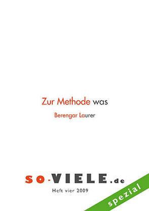 so viele Heft 4 spezial von Kretschmer,  Hubert, Laurer,  Berengar
