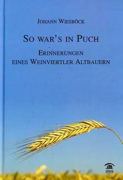 So war's in Puch von Wiesböck,  Johann