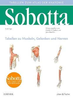 Sobotta Tabellen zu Muskeln, Gelenken und Nerven von Paulsen,  Friedrich, Waschke,  Jens