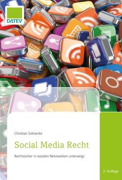 Social Media Recht von Solmecke,  Christian