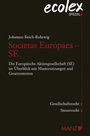 Societas Europaea – SE von Reich-Rohrwig,  Johannes, Wallner,  Beate