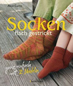 Socken flach gestrickt von Curtis,  Alice