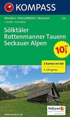 Sölktäler – Rottenmanner Tauern – Seckauer Alpen von KOMPASS-Karten GmbH