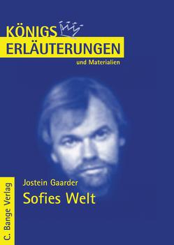 Sofies Welt. Textanalyse und Interpretation. von Gaarder,  Jostein, Urban,  Cerstin