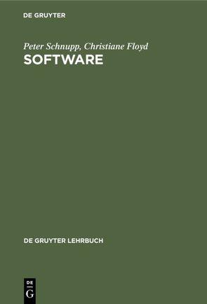 Software von Floyd,  Christiane, Schnupp,  Peter