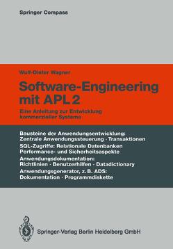 Software-Engineering mit APL2 von Wagner,  Wulf-Dieter