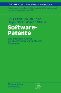 Software-Patente von Blind,  Knut, Edler,  Jakob, Nack,  Ralph, Straus,  Joseph