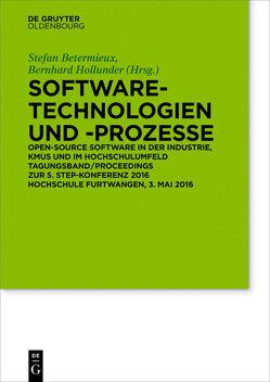 Software-Technologien und Prozesse von Betermieux,  Stefan, Hollunder,  Bernhard