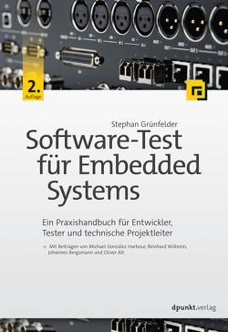 Software-Test für Embedded Systems von Grünfelder,  Stephan