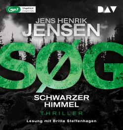 SØG. Schwarzer Himmel. Ein Nina-Portland-Thriller (Teil 2) von Jensen,  Jens Henrik, Sonnenberg,  Ulrich, Steffenhagen,  Britta