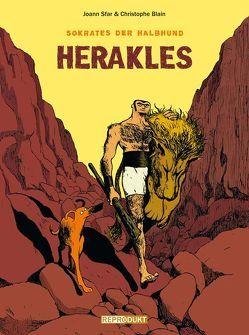 Sokrates der Halbhund 1 – Herakles von Blain,  Christophe, Pröfrock,  Ulrich, Sfar,  Joann