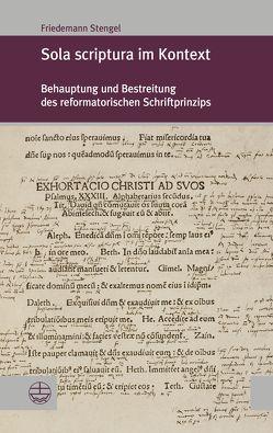 Sola scriptura im Kontext von Stengel,  Friedhelm