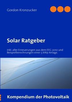 Solar Ratgeber von Kronzucker,  Gordon