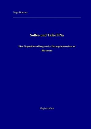 Solfeo und TaKeTiNa von Braemer,  Torge