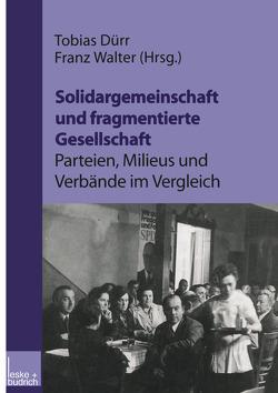 Solidargemeinschaft und fragmentierte Gesellschaft: Parteien, Milieus und Verbände im Vergleich von Dürr,  Tobias, Walter,  Franz