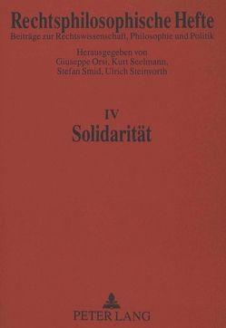Solidarität von Orsi,  Giuseppe, Seelmann,  Kurt, Smid,  Stefan, Steinvorth,  Ulrich