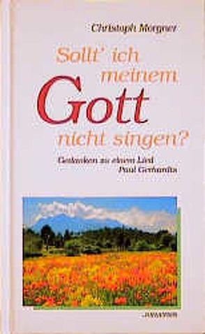 Sollt' ich meinem Gott nicht singen? von Morgner,  Christoph